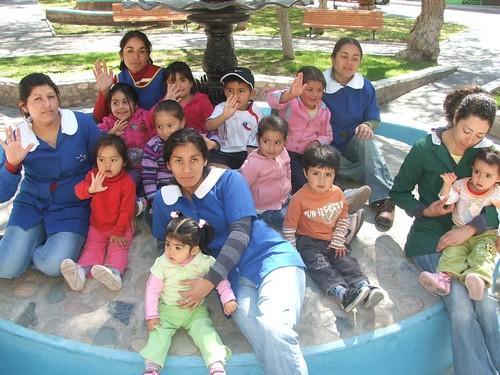 El noticiero del huasco jardin infantil semillitas de amor for Amor en el jardin