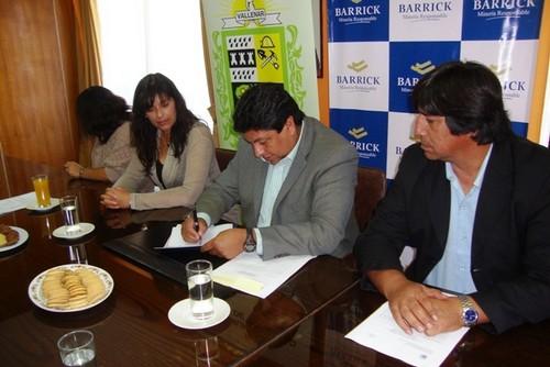 El noticiero del huasco municipio vallenarino y empresa for Convenio oficinas tecnicas