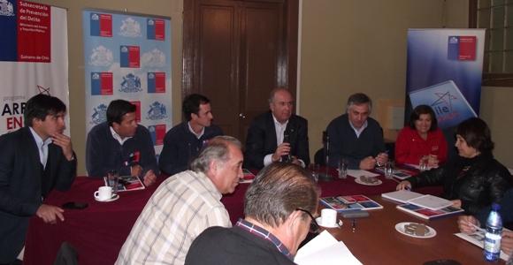 Ministro de Agricultura se reúne con privados para asegurar continuidad  de Siembra de Nubes en Provincia del Huasco