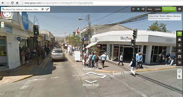 Google Street View suma a Freirina, Vallenar y Huasco