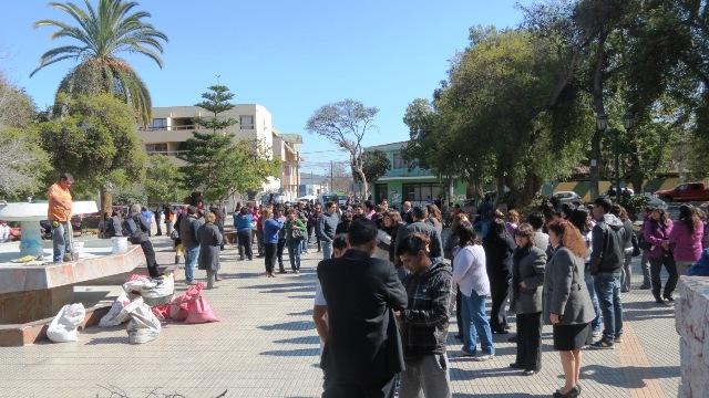 Realizan simulacro de terremoto en Vallenar