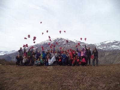 Ganadores de Amigos de la Naturaleza regresan felices de su 'Aventura en la Montaña'