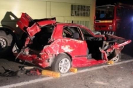 Un lesionado grave tras volcamiento y posterior colisión en Vallenar