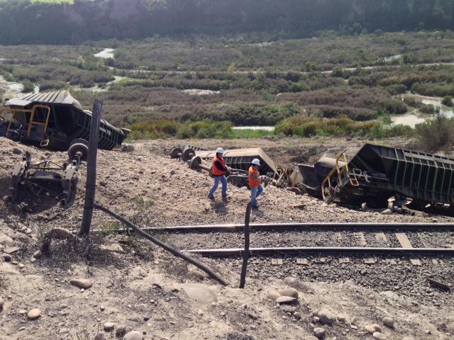 Nuevo accidente de tren en Vallenar: Desengancharon 22 carros en Longomilla