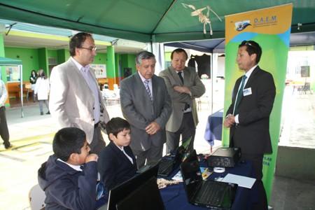 Estudiantes exponen innovadoras iniciativas en el área de la ciencia y tecnología en Vallenar