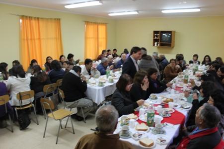 Municipio de Freirina celebra a sus dirigentes sociales