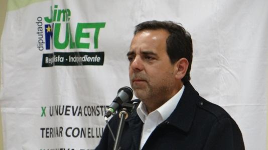 """Mulet: """"Era necesario que volviera a defender los intereses de la región"""""""