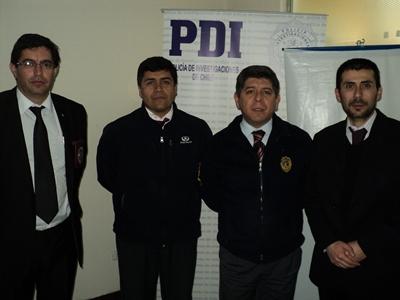 PDI Vallenar y Ministerio Público unificaron criterios en relación a los delitos de connotación sexual