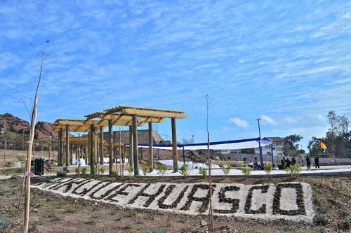 Guacolda Energía y Municipio inauguran nuevo Parque Huasco