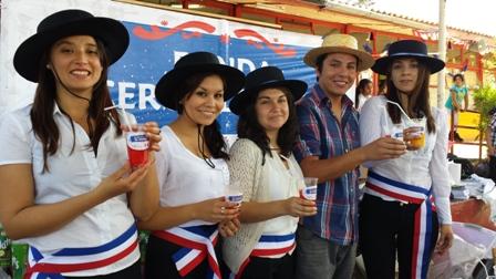 Barra cero alcohol se lució en fonda preparada por el SENDA Previene en Vallenar