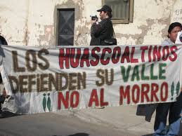 Huascoaltinos presentan recurso de protección contra reglamento de consulta del SEIA