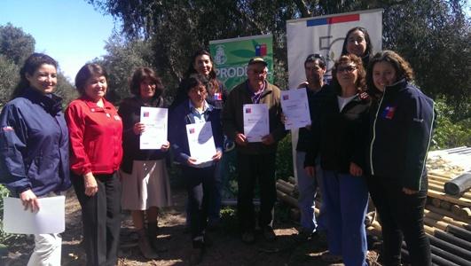 Entregan incentivos de fortalecimiento productivo para agricultores en Huasco