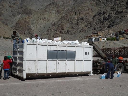 Fijan nueva fecha de recolección de envases de plaguicidas en Alto del Carmen