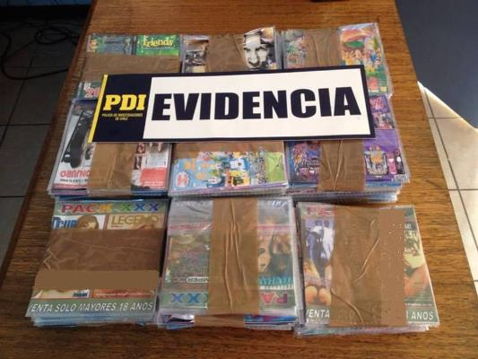 PDI Vallenar detuvo a sujeto con más de 250 discos pirateados