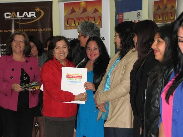 Capacitación mujeres Fundación Prodemu Vallenar (2)