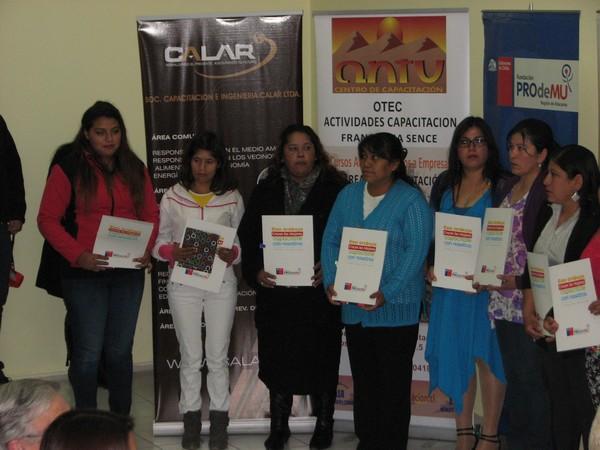 Capacitación mujeres Fundación Prodemu Vallenar (4)