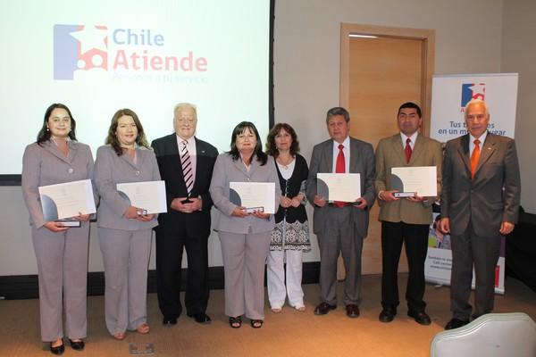 Certifican a funcionarios de Chileatiende