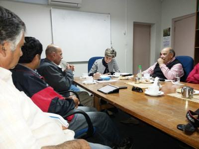 Senadora Allende se reúne con Junta de Vigilancia del río Huasco