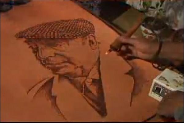 Artesanos de Diego de Almagro realizan curso de pirograbado