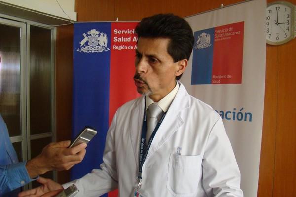 Director Servicio Salud Atacama Héctor Aguilar