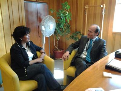 Candidata Provoste se reúne con director de Hospital Provincial del Huasco