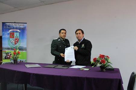 Municipio de Freirina firma convenio con Gendarmería, para implementar pena sustitutiva de servicio en beneficio de la comunidad