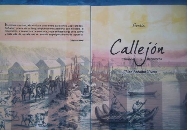 """Juan Soñador Rivera lanzará poemario titulado """"Callejón, caminos y recovecos"""""""