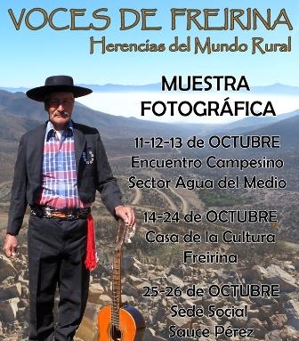 """Fondart Regional rescata las """"Voces de Freirina"""""""