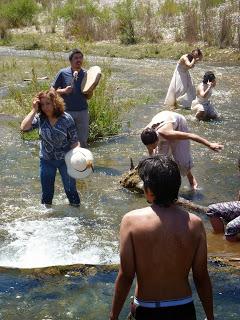 Artistas se reunieron en Alto del Carmen para proteger el agua y los glaciares
