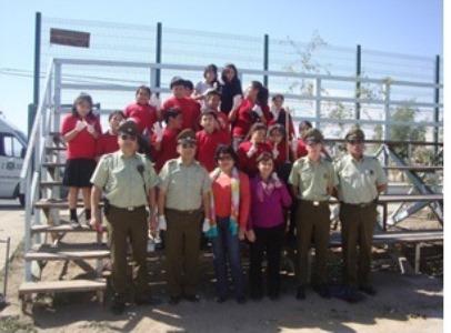 Brigada escolar realiza actividad medioambiental en Vallenar