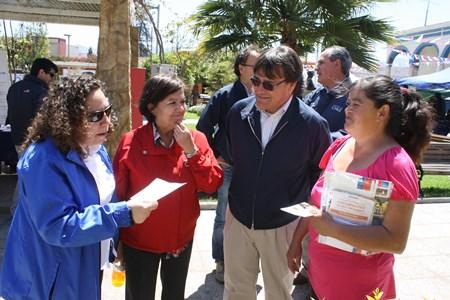 Intensa jornada de gobierno en terreno en Freirina