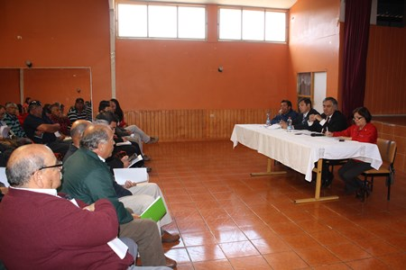 Diversas jornadas informativas con la comunidad del Huasco sostuvo el intendente de Atacama