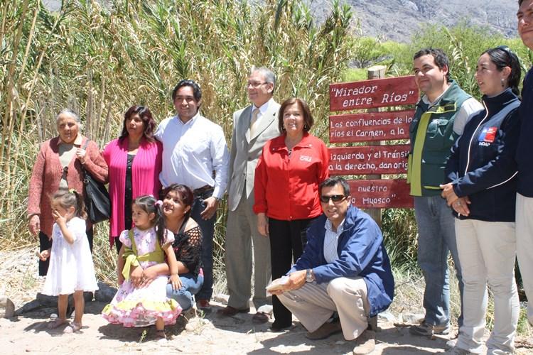 Gobernadora destacó emprendimientos turísticos en Alto del Carmen
