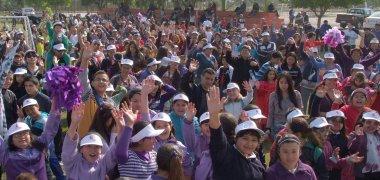 Gran participación de padres e hijos en Olimpiadas Familiares de Fundación CAP