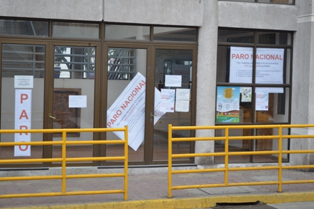 ASEMUCH acordó paro nacional para hoy y mañana 17 de octubre