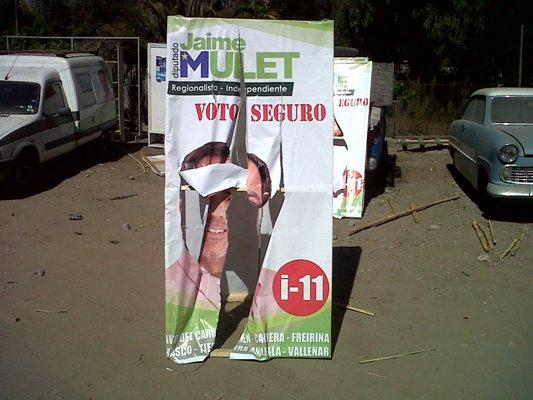 """Mulet denuncia """"campaña sucia"""" en Vallenar"""
