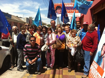 Senador Walker visitó Vallenar para apoyar  candidatura de Yasna Provoste