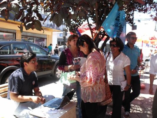 """Candidata ofrece servicio de  """"Consultor Ciudadano"""" a los ciudadanos de Vallenar"""