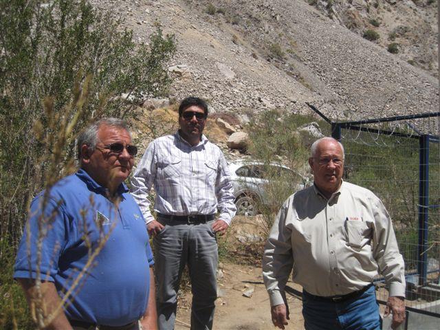 Junta de Vigilancia del río Huasco recibe visita de experto mundial en estimulación de precipitaciones