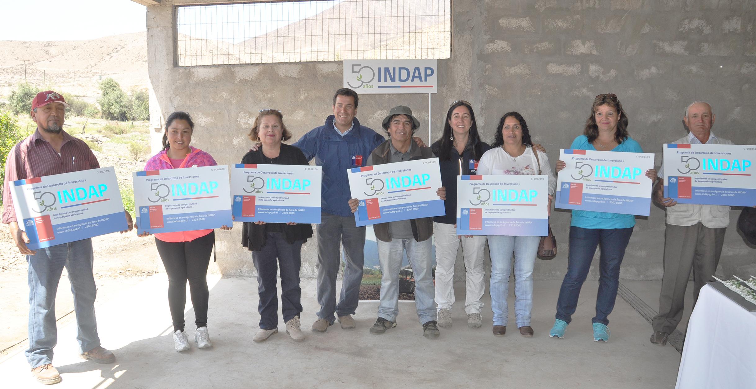 Olivicultores de Huasco se adjudicaron sajadoras de aceitunas y bodegas para almacenar  sus cosechas