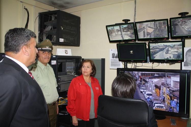 Nuevas cámaras de televigilancia para Vallenar