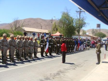 Carabineros celebró aniversario de Domeyko con la comunidad