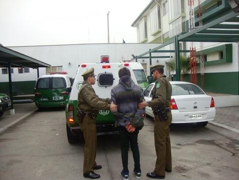 Un detenido por robo con violencia en Vallenar