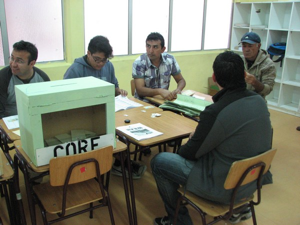 Votaciones en el Huasco se desarrollan con total normalidad