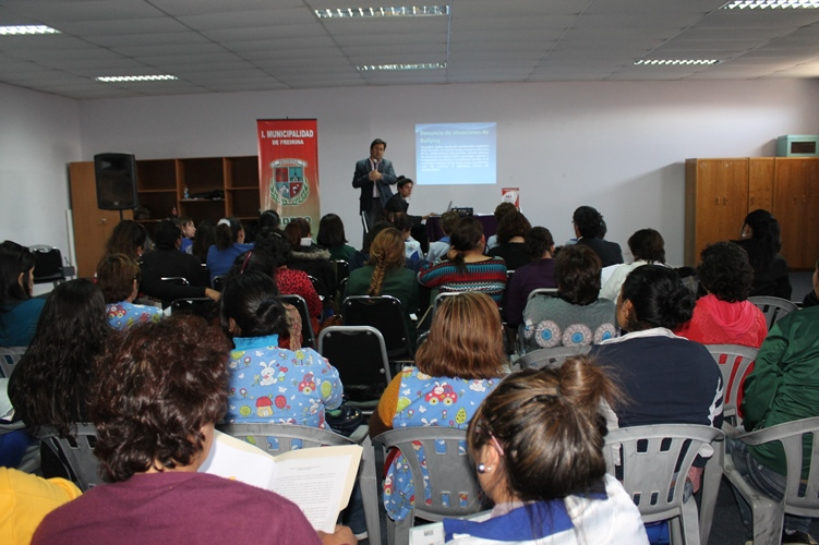 Mesa de la Infancia de Freirina, realiza taller para mejorar la convivencia escolar