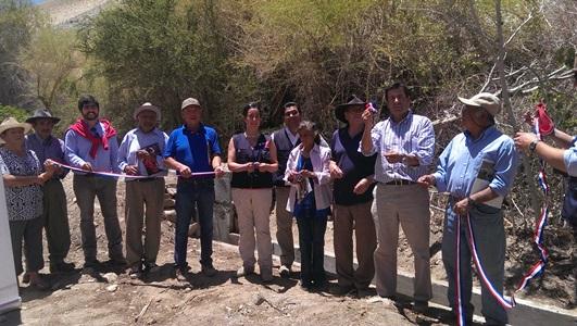 Agricultores de Conay Alto podrán disminuir sus tiempos de riego gracias a Indap