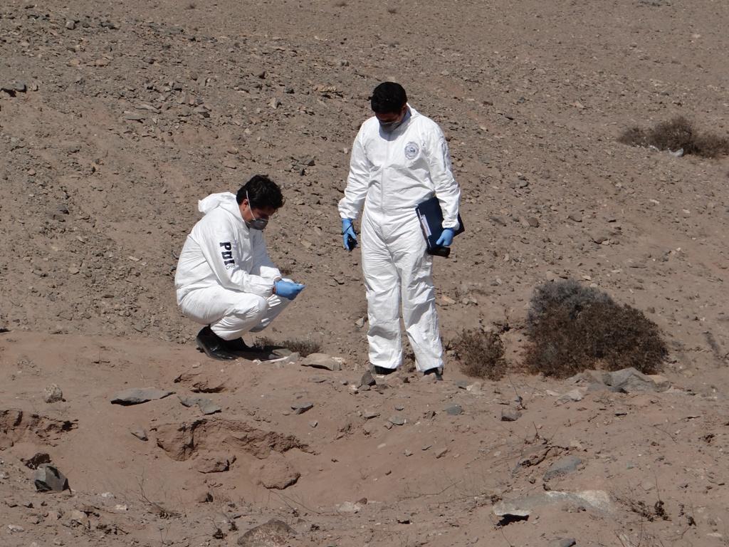 Investigan hallazgo de osamentas humanas en edificio de Vallenar