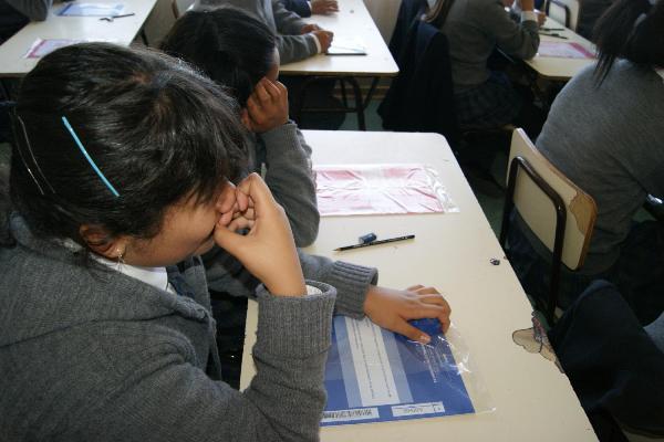 Más de 4400 estudiantes de octavo año rinden el Simce en la región