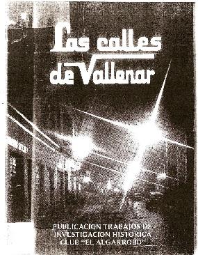 Los Nombres de las Calles de Vallenar.