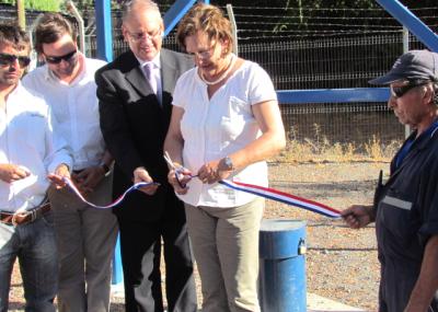 Inauguran pozos para agua potable en San Félix